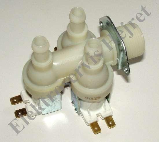 Napúšťací elektroventil 3cestný rohový vývod 12mm 230V