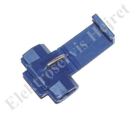 Rýchlospojka modrá pre vodiče 1 - 2,6 mm2