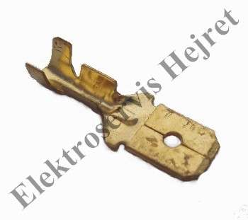 Konektor 4,8 mm samec