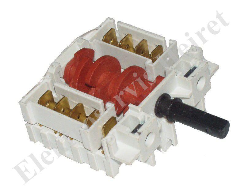 Prepínač platne 7 polôh 5HE/066 (SR105-007) krátky